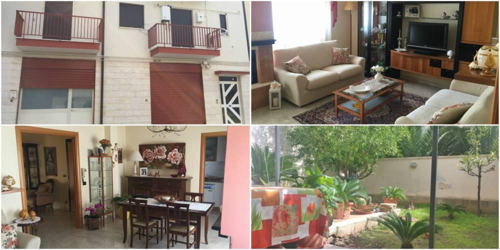 Appartamento con giardino in zona via madonna delle grazie